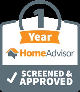 homeadvisor 1 year screened and approved logo 5819889D7F seeklogo.com